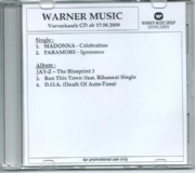CELEBRATION- GERMAN ACETATE 4 TRACK PROMO CD